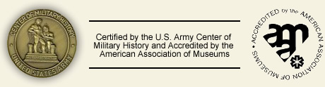 Center of Military History Seal & American Association of Museums Seal