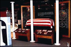 Mortuary Affairs Display