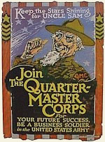 Join the Quartermaster Poster.